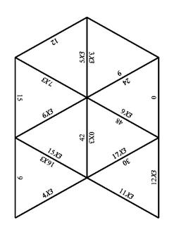 3x tables puzzle