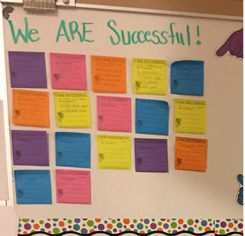 3x3 Successful/Moticvational Sticky Note/Post It Notes