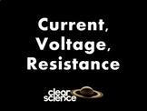 1E) [ELECTRICITY] Current, Voltage & Resistance