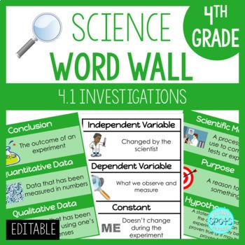 4.1 VA SOL Science Word Wall