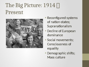 4.1 World War I - Presentation