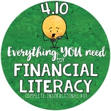 - 4.10 Kit- Financial Literacy, Profit, Expenses, Financial Institutions, & more