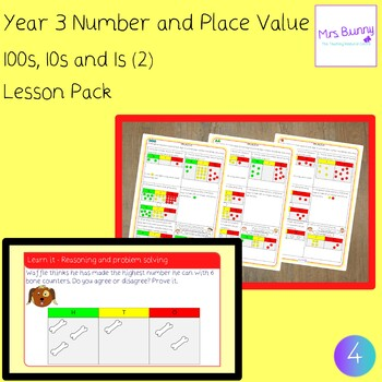 4. Number and Place Value: 100s, 10s, 1s (2) lesson pack (Y3)