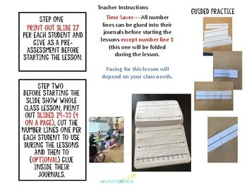 4.2 E F H Decimals on a Number Line Lesson Stations and Intervention