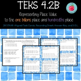TEKS 4.2B Place Value to the One Billions Place and Hundre