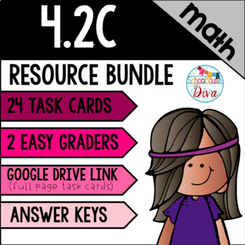 Compare and Order Whole Numbers - 4.2C Math TEKS Resource Bundle