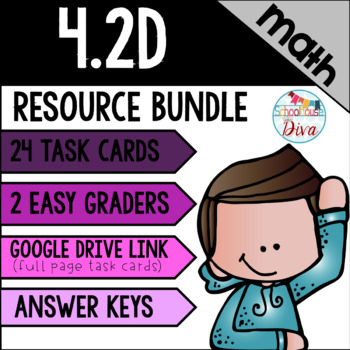 Rounding Whole Numbers - 4.2D Math TEKS Resource Bundle