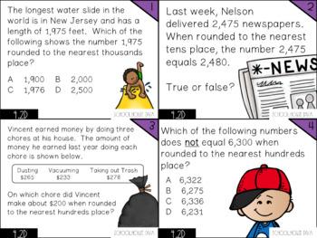 Rounding Whole Numbers - 4.2D Math TEKS Resource Bundle