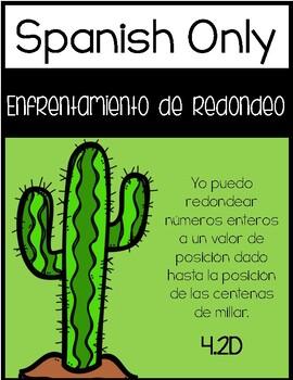 4.2D - Rounding Showdown - Rounding to the Nearest Hundred Thousand - SPANISH