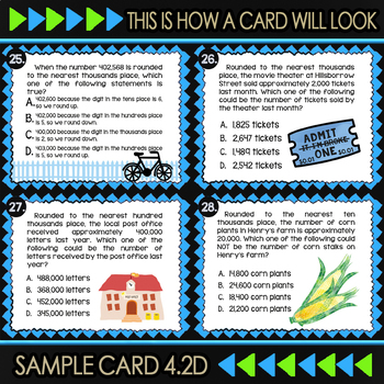 4.2D Rounding Whole Numbers ★ 4th Grade Math TEKS 4.2D  ★ STAAR Test Prep Review
