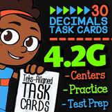 4.2G Decimals to Fractions ★ 4th Grade Math TEKS 4.2G  ★ S