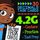 4.2G Decimals to Fractions ★ 4th Grade Math TEKS 4.2G  ★ S