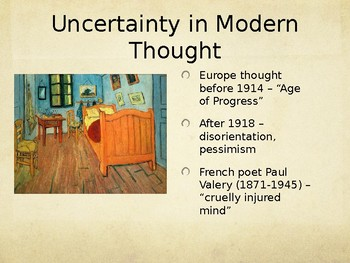 4.3 Cultural & Intellectual Trends of the Interwar Years