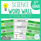 4.3 VA SOL Science Electricity Word Wall