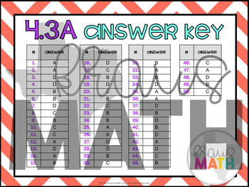 4.3A: Fractions in Expanded Form STAAR Test-Prep Task Cards (GRADE 4)