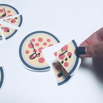 4/4 Time Signature Mini Pizza Compositions