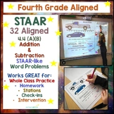 4.4A Addition Subtraction Aligned 32 Question Practice Tes