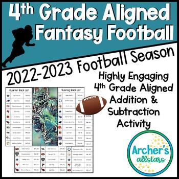 Google Classroom Fantasy Football Addition Subtraction Math Station
