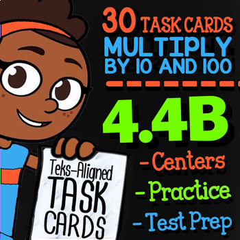 4.4B Multiply by 10s and 100s ★ 4th Grade Math TEKS 4.4B ★ STAAR Math Review