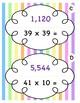 4.4D Multiplication Scavenger Hunt