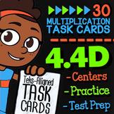 Math TEK 4.4D ★ Multi-Digit Multiplication Task Cards ★ 4th Grade STAAR Math