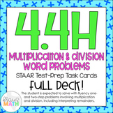 4.4H: Multiplication & Division Word Problems STAAR Test-P