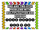 4.4H Task Cards One-and Two-Step Word Problems with Multip