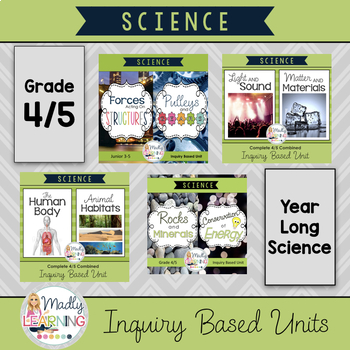 4/5 Combined Science  Inquiry Units