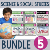 (Gr. 5) Science and Social Studies