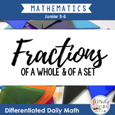 Differentiated Daily Math: Fractions