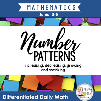 Differentiated Daily Math: Number Patterns