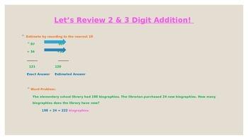 4 & 5 Digit Addition
