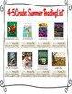 4-5 Grade Summer BookList