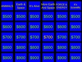 Science Review Jeopardy Round 2