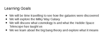4.5 The Galaxies