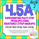 4.5A (DECK 2): Equations and Strip Diagrams STAAR Test Pre