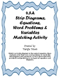 4.5A Strip Diagrams, Equations,Word Problems & Variables M