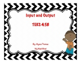 4.5B Input and Output Task Cards