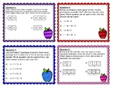 4.5a Strip Diagram and Expression Task Cards