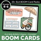 4-6 Grade ELA Skills BOOM Cards™: GROWING BUNDLE for Dista