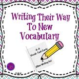 4-6 Vocabulary Task Cards