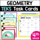 4.6A 4.6B 4.6C 4.6D 4.7C 4.7D 4.7E Geometry STAAR PREP Task Cards