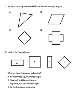 4.6D Classify 2D Figures Using Types of Lines and Angles