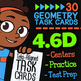 Math TEK 4.6D ★ Classifying Polygons ★ 4th Grade STAAR Math Practice Task Card