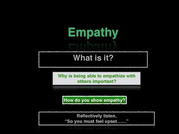 4-6th grade Empathy powerpoint converted to a pdf file