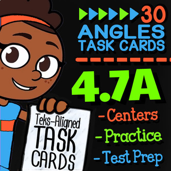 4.7A MEASURING ANGLES ★ 4th Grade Math TEK 4.7A ★ STAAR Math Practice Problems