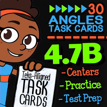 4.7B ANGLES AS PARTS OF A CIRCLE ★ 4th Grade Math TEK 4.7B ★ STAAR Math Practice