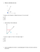 4.7C, 4.7D, 4.7E Angles STAAR practice questions