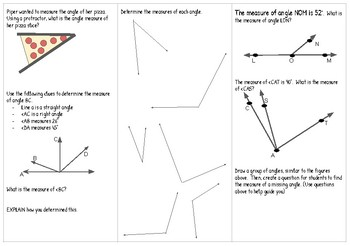 4.7CDE Measuring Angles Brochure