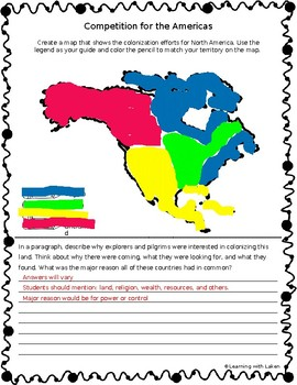4.8 Mapping the 13 Colonies Poster Project